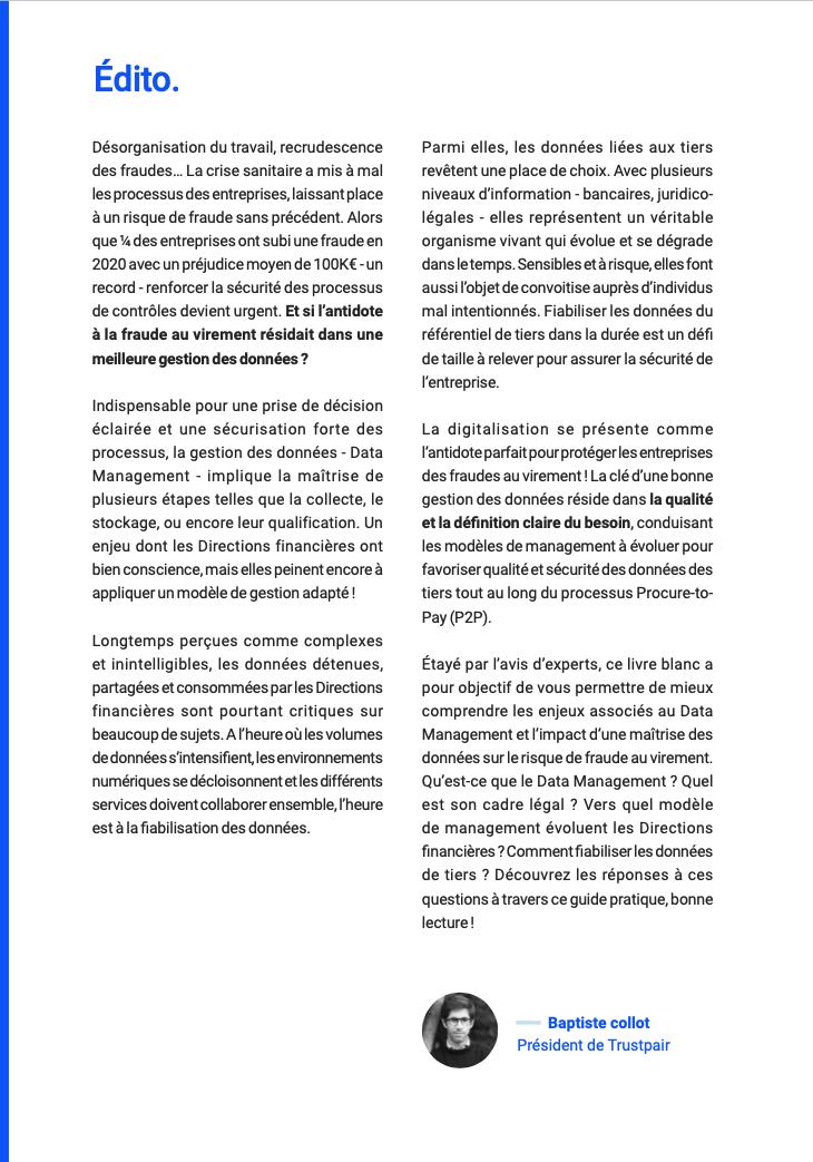 EDITO - Baptiste Collot - Data Management