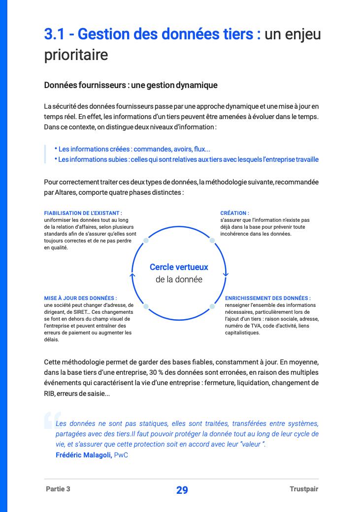 Extrait - Data Management et fraude au virement - Livre blanc Trustpair